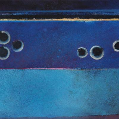WAVELLITE I - SIX HORIZONTAL BLUES