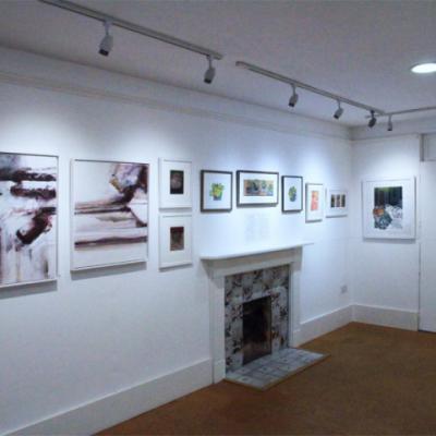 Private View, Birdwood House, Totnes, November 2019
